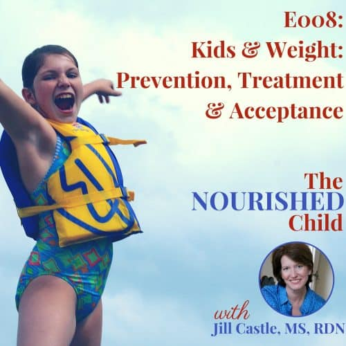 kids weight prevention treatment acceptance