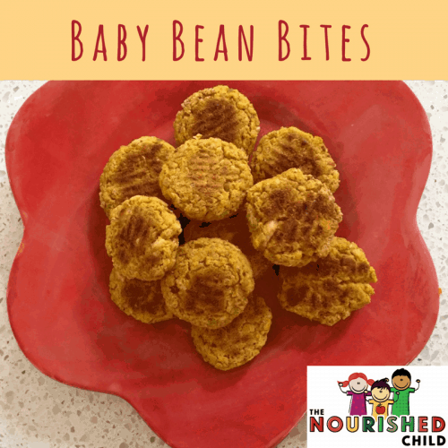 Baby bean bites recipe jill castle beans for baby are a nutritious offering try this finger food recipe called baby bean forumfinder Images
