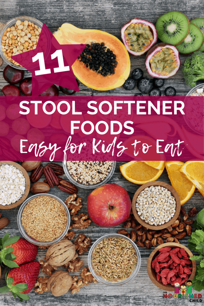 11 Stool Softener Foods that are Easy for Kids to Eat