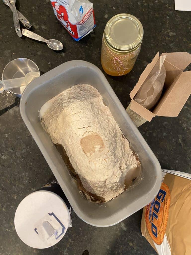 Honey whole wheat bread ingredients