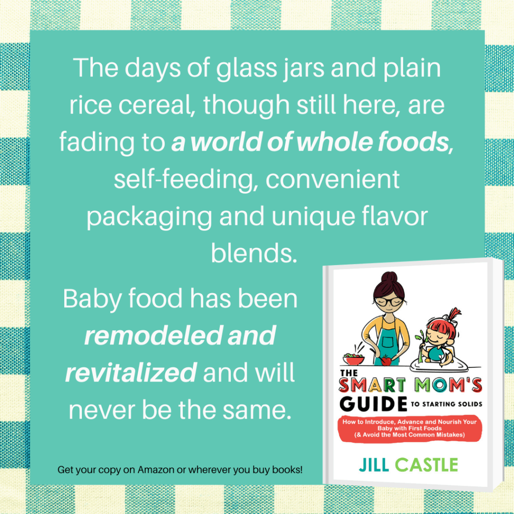 If your baby refuses to eat, check out my baby food book, The Smart Mom's Guide to Starting Solids.